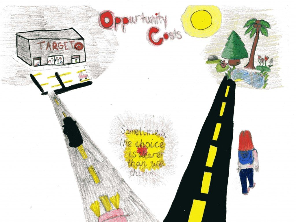Ellie's Poster on Opportunity Cost